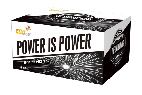 BR-317-16 Mixed shape 97 shots Cake Power Is Power F3