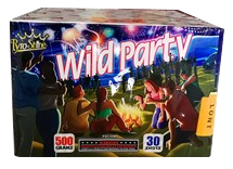 PSC30M Mixed shape 30 shots Cake Wild Party